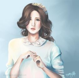Flowers and Songbirds (SNSD Seohyun) by cloverhearts