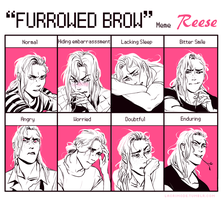 Furrowed Brow Meme: Maurice by lacrimode