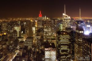 Lights of New York - Lights as far as the eye can by LinsenSchuss
