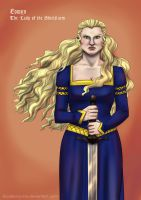 Eowyn-art trade by Blueberry-me