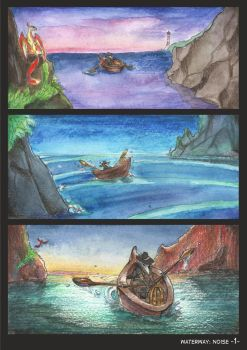 Waterway Noise pg. 1. by TiamatART
