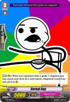 Cereal Guy - Vanguard Card by Nedliv