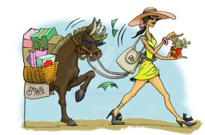 Shopping with a Vengeance by sethness