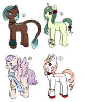 Pony Adopts [1/4 OPEN] by Frostnudel