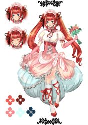 Adoptable Auction :: Twintail Pink Lolita Girl by Sangrde