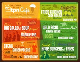 Menu Board by ToyOtter