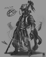[LoL] History Teacher Azir Fanart by Zeitzbach