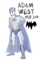 R.I.P. Adam West by JMK-Prime