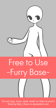 Free to Use Base {Furry} by Koru-ru