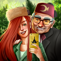 Request - Wendy and Stan by AnnettaSassi