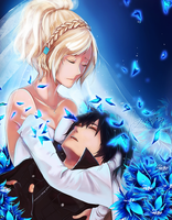 FFXV: Noctis and Lunafreya by iza-chan