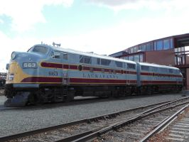 Lackawanna F3 Nos. 663 and 664 by rlkitterman