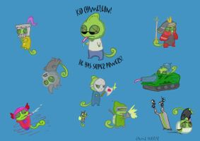 Kid Chameleon homage by guavajagular