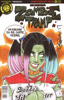 Zombie Tramp SDCC Pre-Commission by BillMcKay