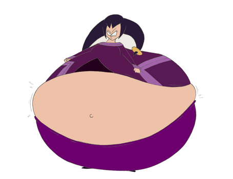 Queen Tia food balloon (colored) by Montyclan