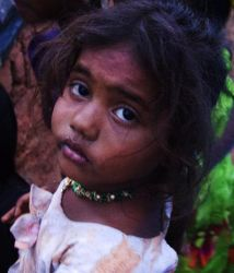 Slum Girl by ichhagandhi