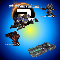 PlanetSide 2 Icon Pack by haywire7