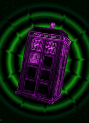 Acid Tardis by Ayan-kun