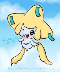 Jirachi for Nhi by lowlaury
