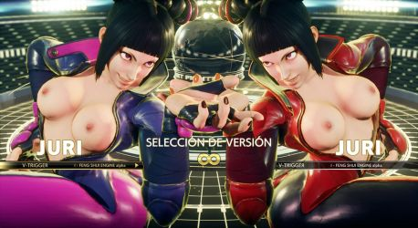SFV Mod - Juri Topless by Segadordelinks