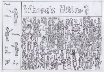 where's hitler? by blackstar7