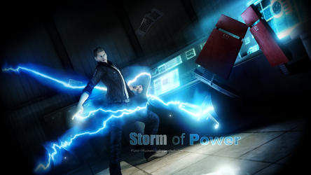 Storm of Power by Piers-Michaelis