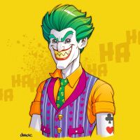 Joker - The Lego Batman Movie by D-MAC