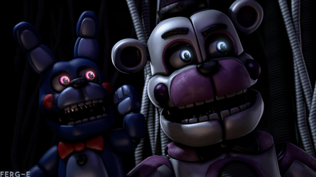 (FNaF SFM) I hear a sound! by Fer-Ge