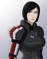 Mass Effect - My Shepard by EtyrnalOne