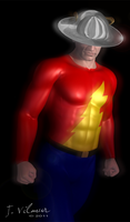 Jay Garrick- The Flash by NVent3d