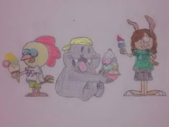 My 1st set of Original Characters by SecretName1010