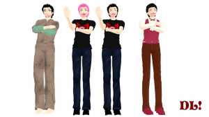 MMD Markiplier Model DL by Allena-Frost-Walker