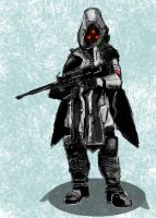 Helghast Scout by SirPomPom