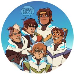 Voltron: THE BOYS by cherrysplice