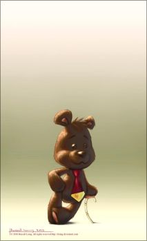 Arthur The Bear by rlaing