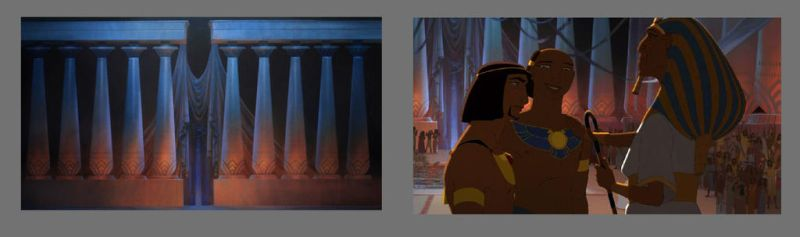 Prince of Egypt Columns by NathanFowkesArt