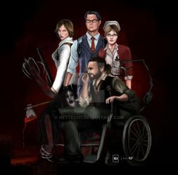 [Fanart] The Evil Within by nette2301