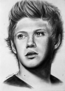Niall Horan One Direction by UtiliaMignano