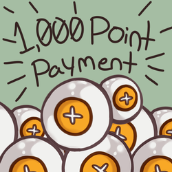 [Pay With Points Here] 1,000 Point Payment by heartof-theforest