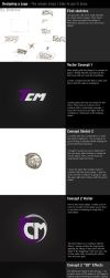 Designing a Logo - My Steps by Axertion