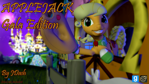 Applejack Gala Edition (SFM/GMod) by JDash42