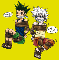 Hunter x hunted by Naikoworld