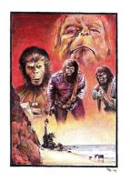 Planet of the Apes by RobD4E