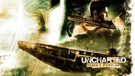 Uncharted Wallpaper -1st place by JaKhris