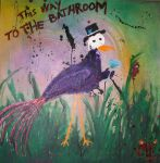 This Way to the Bathroom by crazybirds