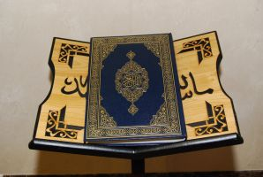 Quran on a stand 2 by billax