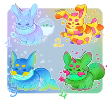 [CLOSED] DustBabies Guest Artist Auction by Yoshimiko-Adopts