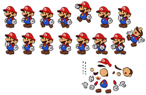 Paper Mario (3D World style) by DerekminyA