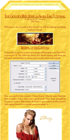 Golden Red Tag Tutorial part I by Phritz