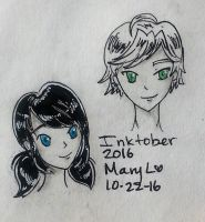 Inktober 2016-These Cuties by mayuralover